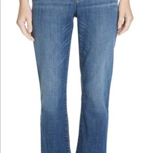 High rise bootcut cropped Eileen Fisher jeans 6